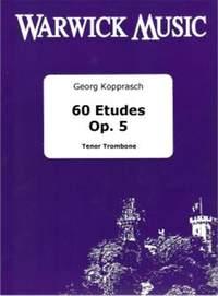 Kopprasch: 60 Etudes Op 5 (Trombone)