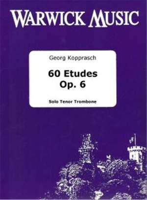 Kopprasch: 60 Etudes Op 6 (Trombone)