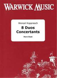 Kopprasch: 8 Duos Concertants