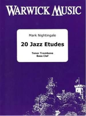 Nightingale: 20 Jazz Etudes (bass clef/CD)