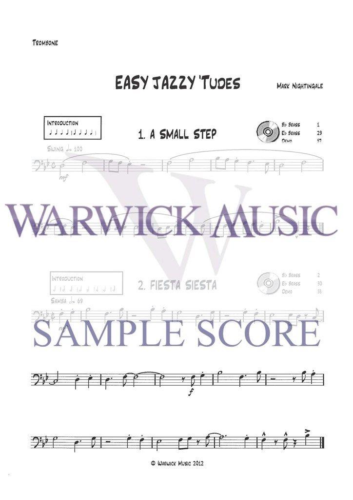 Nightingale: Easy Jazzy 'Tudes (tbn bass clef)