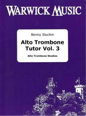 Sluchin: Alto Trombone Tutor (Vol 3)