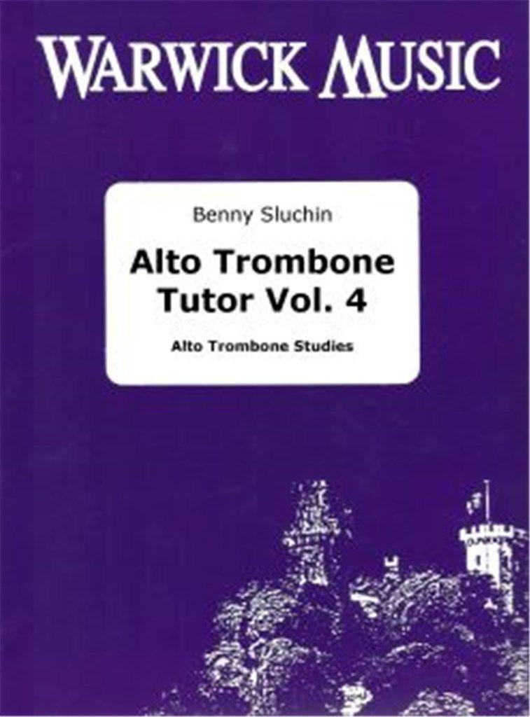 Sluchin: Alto Trombone Tutor (Vol 4)