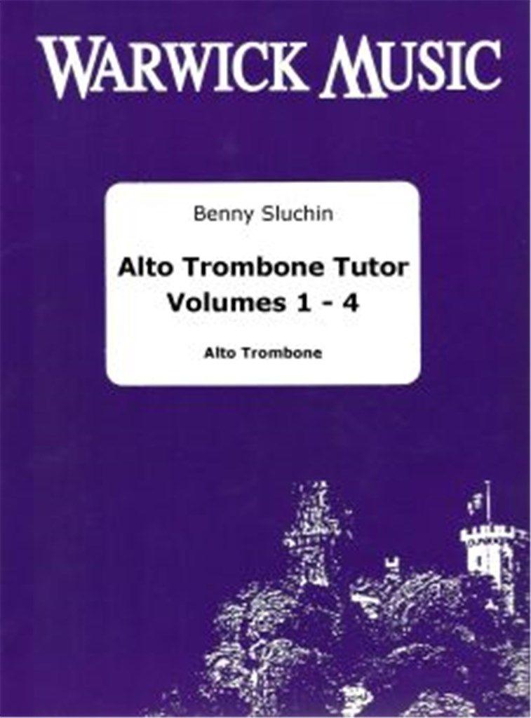 Sluchin: Alto Trombone Tutors (Vol 1,2,3 & 4)