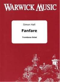 Hall: Fanfare for Trombone Octet