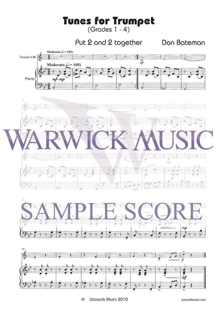 Bateman: Tunes for Trumpet (Grades 1 -4)