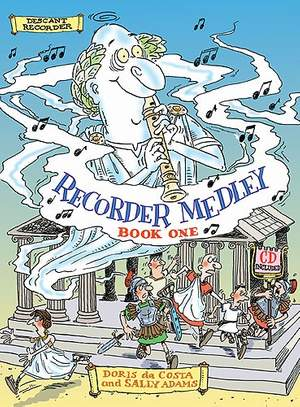 Da Costa/Adams: Recorder Medley Descant Book 1 (Inc. Cd)