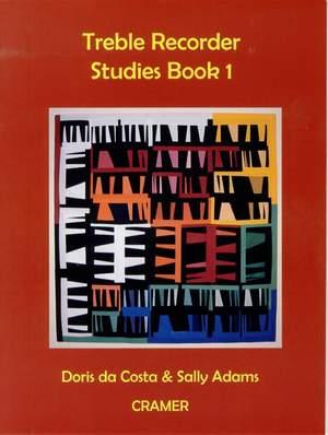 Da Costa/Adams: Treble Recorder Studies Book 1