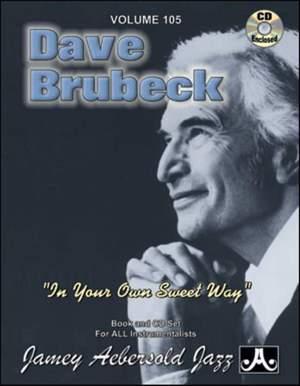 Aebersold, Jamey: Volume 105 Dave Brubeck