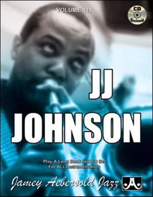 Aebersold, Jamey: Volume 111 J.J. Johnson Product Image