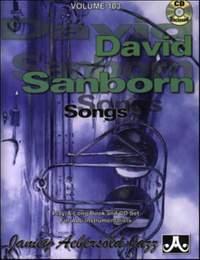 Aebersold, Jamey: Volume 103 David Sanborn