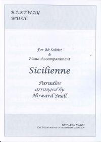 Paradies: Sicilienne (arr. Howard Snell)