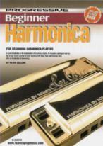 Progressive Beginner Harmonica Book+DVD