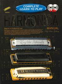 Complete Learn To Play Harmonica Manual + CDs