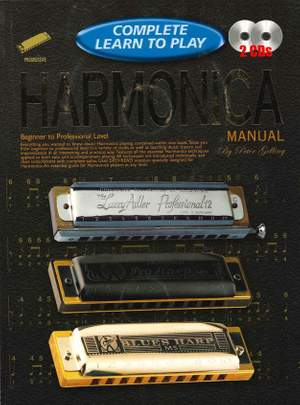 Complete Learn To Play Harmonica Manual + CDs Product Image