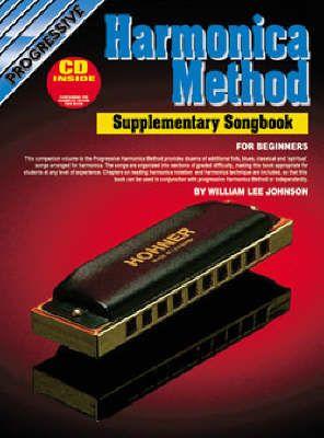 Progressive Harmonica Method Supp Songbook + CD