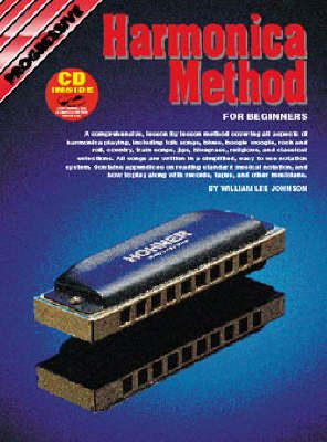 Progressive Harmonica Method Book & CD
