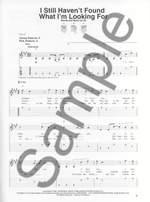 U2: 18 Singles Easy Guitar Product Image