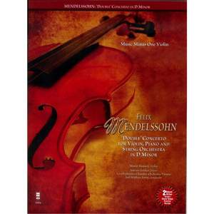 Felix Mendelssohn: 'Double' Concerto For Piano, Violin And String Orchestra In D Minor Product Image
