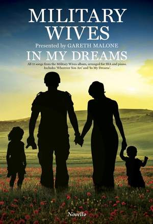Gareth Malone_Military Wives? Choir: In My Dreams - SSA/Piano Product Image