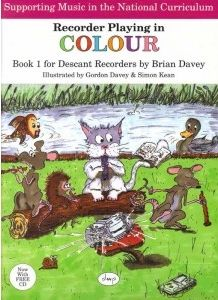 Davey: Recorder Playing in Colour Book 1