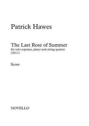 Patrick Hawes: The Last Rose of Summer