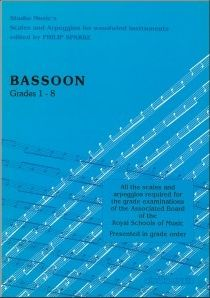 Sparke: Scales and Arpeggios for Bassoon