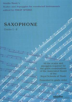 Sparke: Scales and Arpeggios for Saxophone