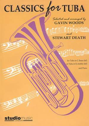 Classics for Tuba arr. Woods (Bass clef/Eb Treble clef part with accompaniment)