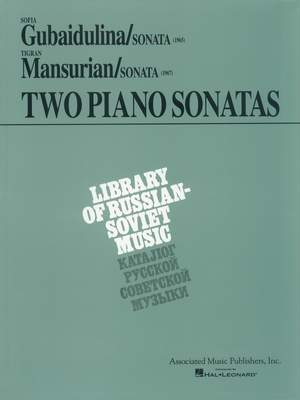 Sofia Gubaidulina: Two Piano Sonatas by Young Soviet Composers