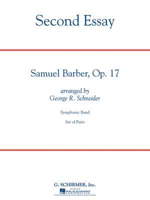 Samuel Barber: Second Essay Cb Full Score