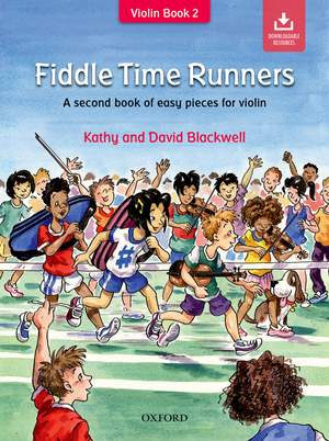 Fiddle Time Runners + CD, revised edition