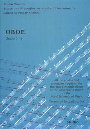 Sparke: Scales and Arpeggios for Oboe