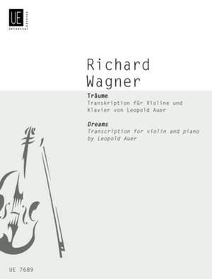Wagner, R: Träume Product Image