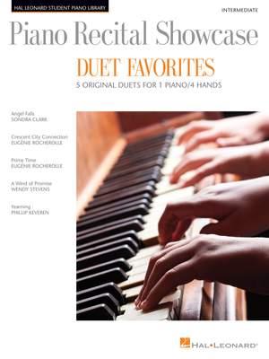 Eugénie Rocherolle_Phillip Keveren_Sondra Clark_Wendy Stevens: Piano Recital Showcase Duet Favourites