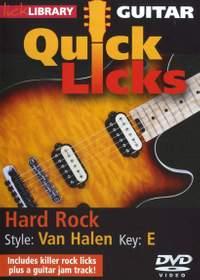 Eddie Van Halen: Quick Licks - Van Halen Hard Rock