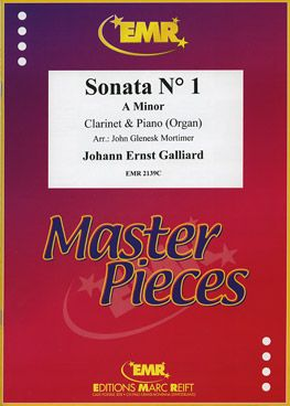 Galliard, Johann: Sonata No 1 in A min