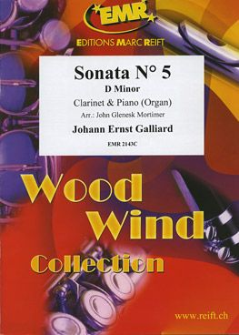 Galliard, Johann: Sonata No 5 in D min