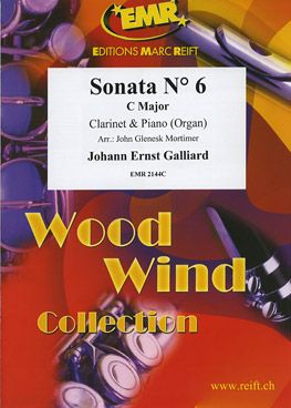 Galliard, Johann: Sonata No 6 in C maj
