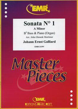 Galliard, Johann: Sonata No 1 in A min