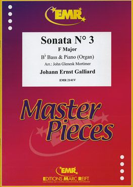 Galliard, Johann: Sonata No 3 in F maj