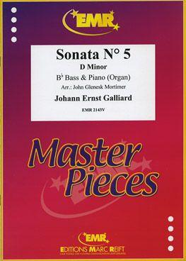 Galliard, Johann: Sonata No 5 in D min