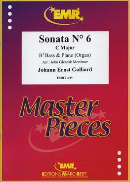 Galliard, Johann: Sonata No 6 in C maj