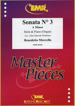 Marcello, Benedetto: Sonata No 3 in A min