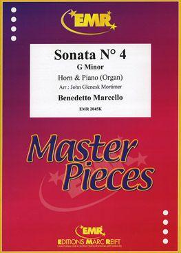 Marcello, Benedetto: Sonata No 4 in G min