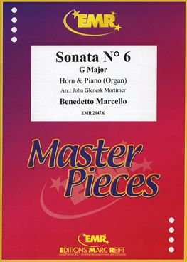 Marcello, Benedetto: Sonata No 6 in G maj