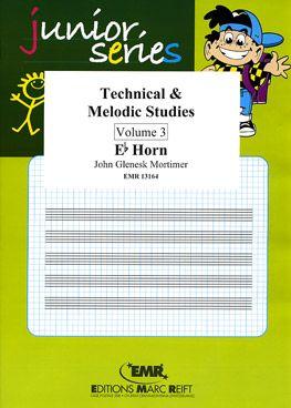 Mortimer, John: Technical & Melodic Studies vol 3