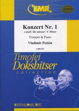 Peskin, Vladimir: Trumpet Concerto No 1 in C min