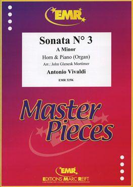 Vivaldi, Antonio: Sonata No 3 in A min