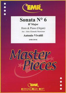 Vivaldi, Antonio: Sonata No 6 in Bb maj